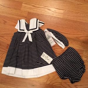 Girls 3 piece dress